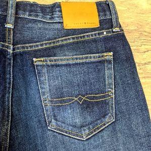LUCKY BRAND 121 Heritage Slim Dark Wash Jeans 33